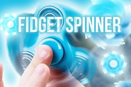 IN STOCK Promotional Fidget Spinners