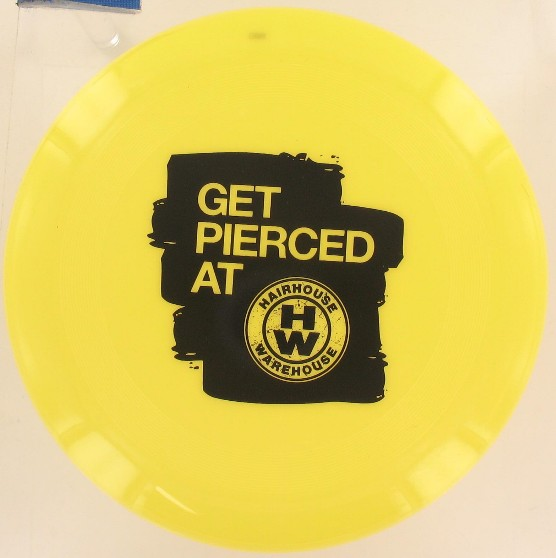 Personalised frisbees