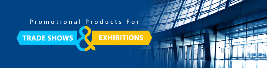 tradeshows and exhibitions items banner