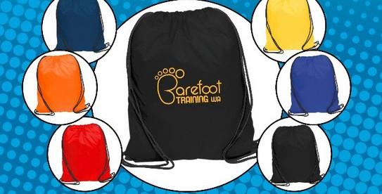 Save 10% off our express Promotional Drawstring Backsacks