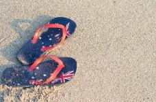 Australia Day Thongs