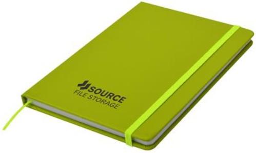 green carnival notebooks