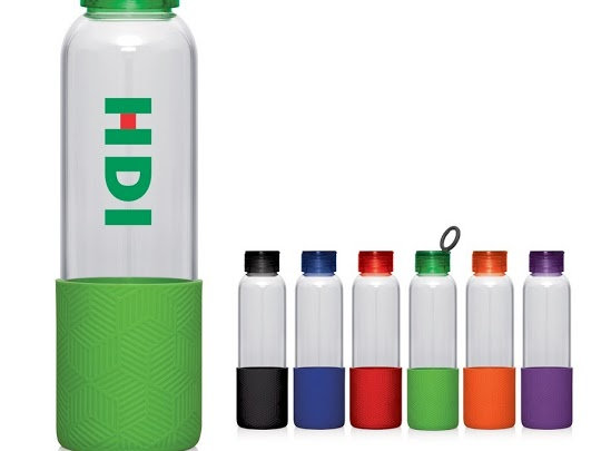 10% Off Glass Drink Bottles Branded