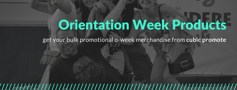 promotional bulk orientation week products