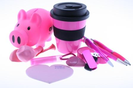 pink promotional items