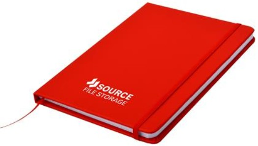 red carnival notebook