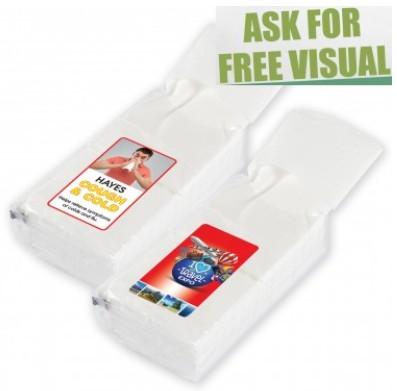 custom branded tissue pack
