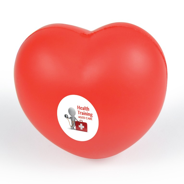 10% Off Promotional Stress Hearts